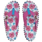 Damen Flip Flop Mixed Hibiscus