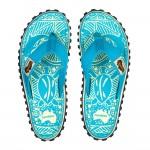 Damen Flip Flop Turquoise