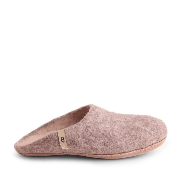 Egos Men Slipper Natural Grey