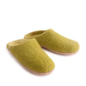 Egos Women Slipper Lime Green