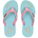 Flip Flop Kahuku Blue Hibiscus Lady