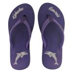 Flip Flop Kahuku Purple Dolphine Lady