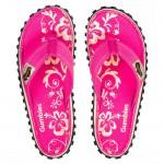 Kinder Flip Flop Pink Hibiscus
