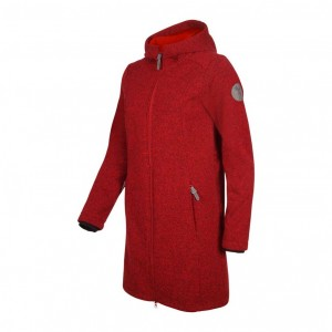 windrose Damen-Softshell-Mantel